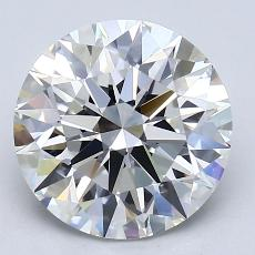 Recommended Stone #3: 3.03-Carat Round Cut Diamond