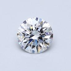 Recommended Stone #1: 0,61-Carat Round Cut Diamond