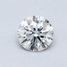 0.60 Carat 圆形 Diamond 理想 J VS2