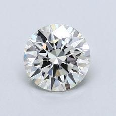 0,82 Carat Rond Diamond Idéale J VVS2