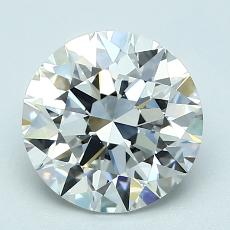 Recommended Stone #1: 2.03-Carat Round Cut