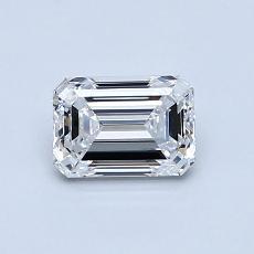 Recommended Stone #2: 0.80-Carat Emerald Cut Diamond