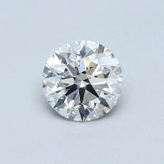 0,58 Carat Rond Diamond Idéale I SI2