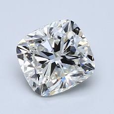 目标宝石:1.50 克拉垫形钻石
