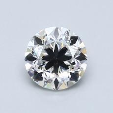 1,00 Carat Rond Diamond Bonne G VS2