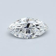 Recommended Stone #2: 0.51-Carat Marquise Cut Diamond