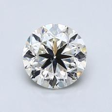 1.00-Carat Round Diamond Good K SI2