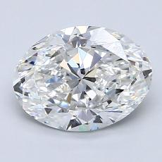 Recommended Stone #4: 1,90-Carat Oval Cut Diamond