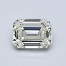 Recommended Stone #3: 1.00-Carat Emerald Cut Diamond