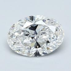 Recommended Stone #1: 1.22-Carat Oval Cut Diamond