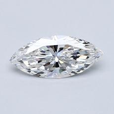 Recommended Stone #3: 0.51-Carat Marquise Cut Diamond