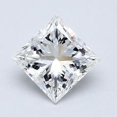 推荐宝石 4:1.10 克拉公主方形钻石