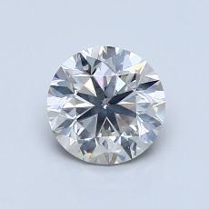 1,00-Carat Round Diamond Very Good I SI2