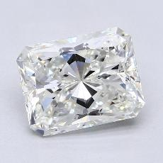 Recommended Stone #3: 3.03-Carat Radiant Cut Diamond