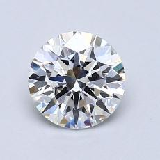 1.03 Carat 圆形 Diamond 理想 F IF