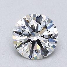 1,25-Carat Round Diamond Ideal G VS2