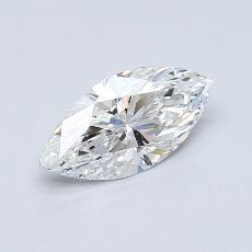Recommended Stone #2: 1.08-Carat Marquise Cut Diamond