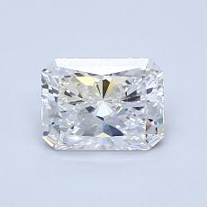0,90-Carat Radiant Diamond Very Good D VS1