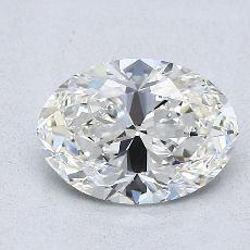 1.20-Carat Oval Diamond Very Good H VVS1
