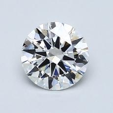 1.01-Carat Round Diamond Ideal E VS2