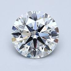 1.50 Carat 圆形 Diamond 理想 D VS2