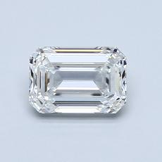 Recommended Stone #4: 0.85-Carat Emerald Cut Diamond