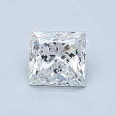 Recommended Stone #2: 0.96-Carat Princess Cut Diamond