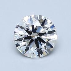 1.03 Carat 圆形 Diamond 理想 H VVS2