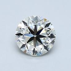 1.00 Carat 圆形 Diamond 良好 K VS2