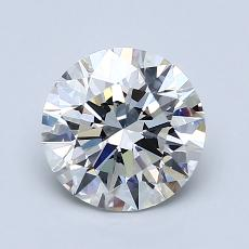1.50 Carat 圆形 Diamond 理想 H VS2