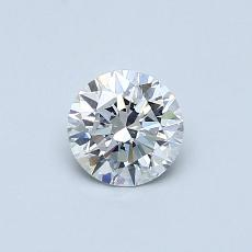 Current Stone: 0.50 克拉圆形 Cut