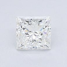Recommended Stone #4: 1.03-Carat Princess Cut Diamond