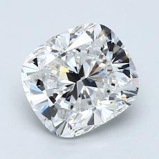 推薦鑽石 #4: 1.51 克拉墊形切割