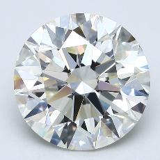Recommended Stone #1: 3.71-Carat Round Cut Diamond