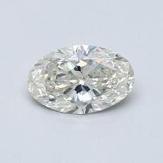 推薦鑽石 #2: 0.58 克拉橢圓形切割鑽石