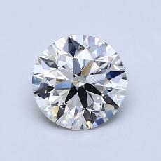 1.01 Carat 圆形 Diamond 理想 I VVS2
