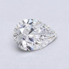 Recommended Stone #3: 0.72-Carat Pear Cut Diamond
