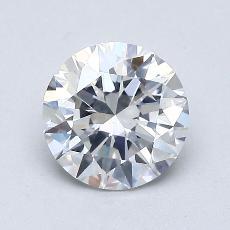 1.00-Carat Round Diamond Ideal E SI2