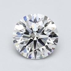 1,02-Carat Round Diamond Ideal G VS1