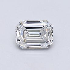 Recommended Stone #1: 0.71-Carat Emerald Cut Diamond