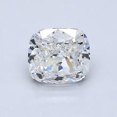 1.00 Carat 垫形 Diamond 非常好 G VS1