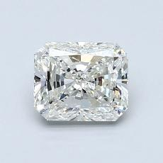 1,02-Carat Radiant Diamond Very Good I VS1