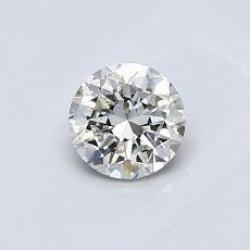 0,50-Carat Round Diamond Good H SI1