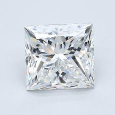 Recommended Stone #4: 2,01-Carat Princess Cut Diamond