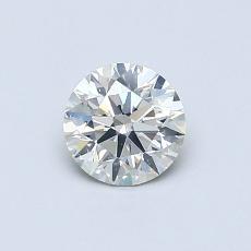 0.50 Carat Redondo Diamond Ideal J SI2
