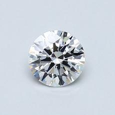 オススメの石No.1:0.55カラットラウンドカットダイヤモンド