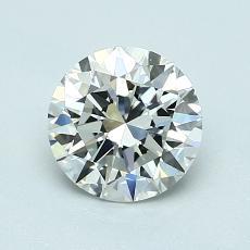 Target Stone: 1,00-Carat Round Cut Diamond