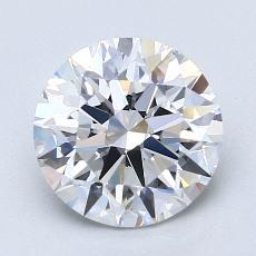 Pierre recommandée n°2: Diamant taille ronde 2,01 carat