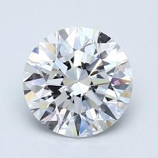 1,50 Carat Rond Diamond Idéale D VS1
