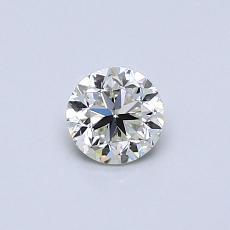 Pierre recommandée n°3: Diamant taille ronde 0,40 carat